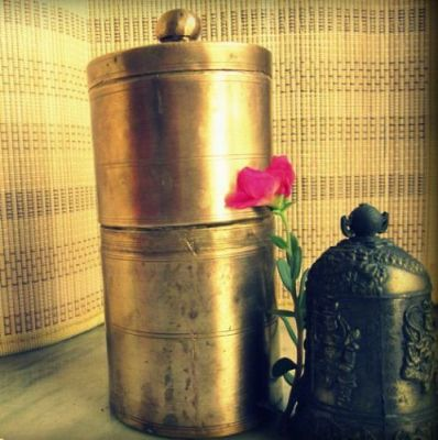 Brass Traditional South Indian Filter Coffee Drip Maker