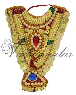 Hindu Diety Necklace Chest Accessories God Sringaar Decoration