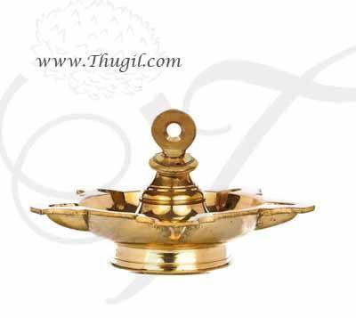 Brass Hanging Diya Thongu vilakku Deepam Oil Lamp Buy online