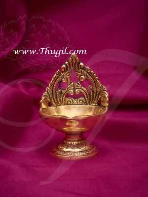 """4"""" Brass Diya Vilakku Deepam Diyas Buy Now"""