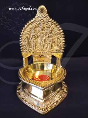 "7"" Lord Murugar Vilakku Brass Diyas Lamps Buy Now"