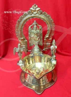 "13"" Tirupati Lord Balaji Venkateshwara Diya Vilakku Oil Lamp Buy Online"