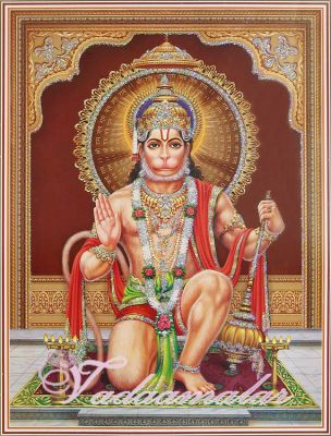Hanuman Picture Gift Photo Card