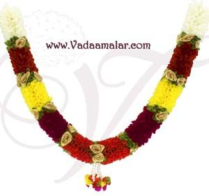 "18"" tall India Bridal decoration garland washable Mala Buy Now"