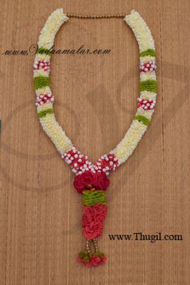 1 Wedding synthetic jasmine and rose garlands maala garland