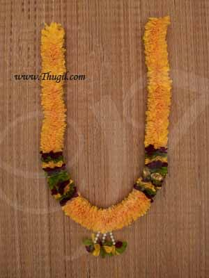 """25"""" Eco friendly Flower Garlands Mala Synthetic deocrations Available Online"""