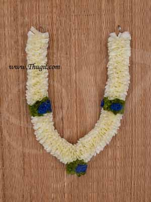 """10"""" Eco friendly Flower Garlands Mala Synthetic deocrations Available Online"""