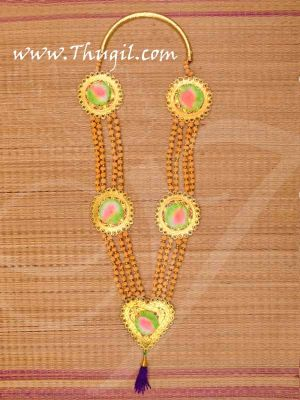 """36"""" Sandal Garland Santhana Mani Malai for VIP and Chief Guests Buy Online"""