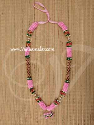 """Maalai For Statue Photo and Wedding Rose Colour Synthetic Garlands  Buy Now 25"""""""