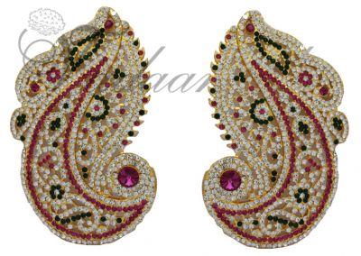 Statue Goddess Stone ear ornamental Jewellery Dances and Deity Jewelry