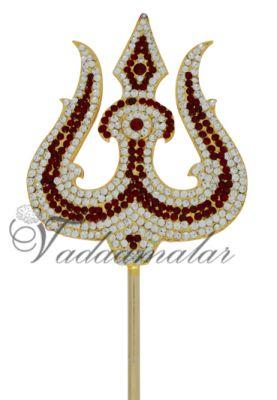 Trishul thiri soolam for Amman Shiva Parvathi Metal Symbol weapon Ornament Online