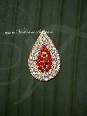 Tilak Symbol Jewelry Ornament for forehead Statue Diety Amman Jewellery