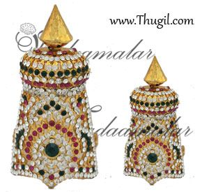 Buy Online Hindu Deity Statue Crown Kreedam Ornament Jewelry God and Godess