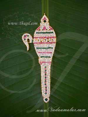 Buy Online Ankusam Ornament Lord Ganesha Jewelry Decoration for Temple