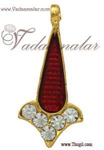 Tilak Tikka Symbol Jewelry Ornament for forehead Statue Hindu Diety Jewellery