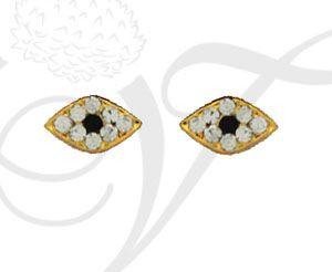 0.6 inch Eyes Ornament Deity Jewelry Stone Deities Meenakshi Amman Buy Online
