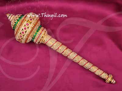 "Lord Hanuman Gada Mace Weapon Jewellery Hindu God Buy Online 19"""