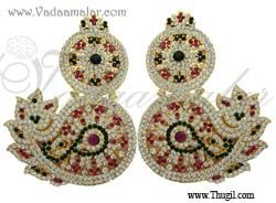 Ear ornamental for Deity Idols and Statue Decorations