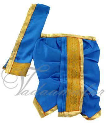 Krishna Ganesha Murthi Idol Panjakajam Dothi Costume Dress