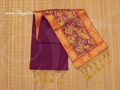 8 x 14 Gold Poly Cotton  Shawl Gift Stole for Murthi Deity Buy now