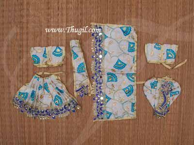 "5.5"" Laadu Gopal Radha Krishna Dresses Shringar Available Buy Now"