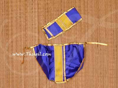 Panjakajam Dothi Krishna Ganesha Murugan Murthi Costume Dress Buy 6-10 inches