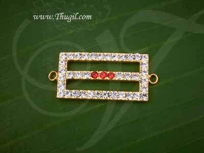 Tripundra Symbol Jewelry Ornament Vibuthi Patta Pattai Statue Diety Siva Jewellery