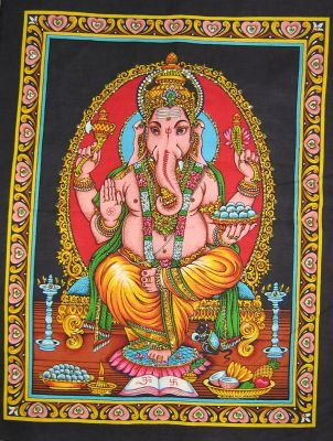 Lord Ganesha poster on unframed printed
