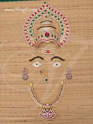 Jewellery Shringar Set for God and Goddess Alangaram decorative Buy Now