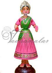 "12"" tall Thanjavur thalaiyatti bommai tanjore dancing doll Buy Online"