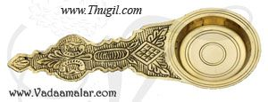Brass Aarti Dhoop Single Pooja Arti Buy Now 7.5 inches