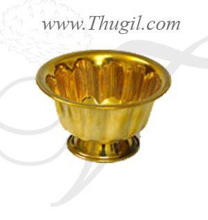 Brass Sandal Wood Paste Bowl chandanakinnam