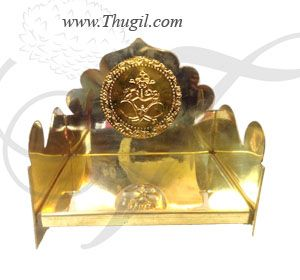 Brass Carving Ritual Throne for Deity