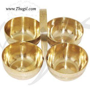 Brass Kumkum Holder for Pooja Buy Now