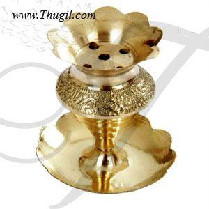 "2"" Quality Brass Agarbatti Stand Incense Holder Buy Online"