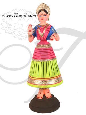 """15"""" Thanjavur thalaiyatti bommai tanjore dancing doll Buy Online"""