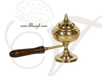 Brass Sambrani Dhoop Stand