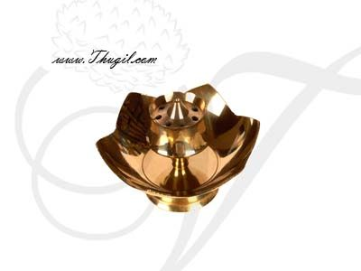 """2.5"""" tall Agarbatti Stand Incense Holder Brass Buy Now"""
