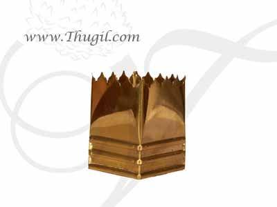 "2.7"" Brass Tulasi Tulsi Brundhavana Small Stand Indian Decorative Buy Now"