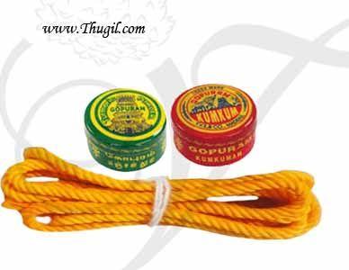 6 sets Manjal Thread KumKum Turmeric Thamboolam Gift Buy Now