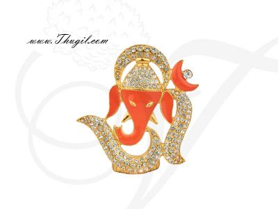 """1.8""""- 2.2"""" Small Lord Ganesha Statue Gift Piece"""