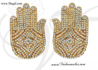 Swami alankaram Hastham Gods and Goddesses Temple Jewelry Ornaments Buy Online