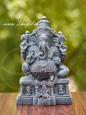 """8"""" Lord Ganesha Ganesh Statue Hindu God Papermache Home Decorations Buy Now"""