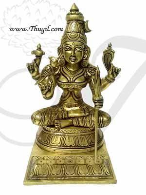 Kanchi Kamachi in Brass Goddess Kamakshi Hinidu Devi Statue Online