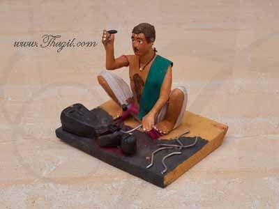 Blacksmith Ironmonger Golu Doll Bommai Navarathatri Buy Online