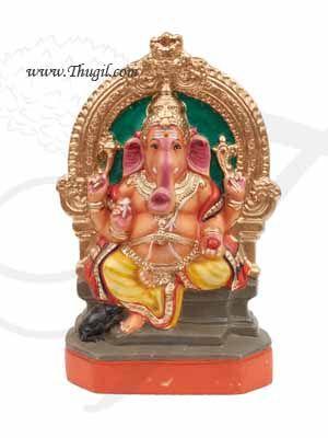 "Lord Ganesha Ganapathy Golu Doll Bommai Navarathatri Paper Mache 15"" Buy Online"