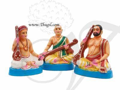 Sangeetha Mummoorthigal Musical Trinity Bommalu Bomai Doll India Navrathiri