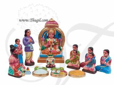 Santhosa Matha Gollu Set Golu Doll Bommai Navarathatri Buy Online