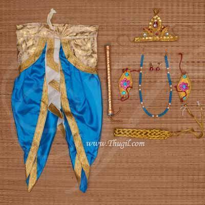 Krishna Costume with Accessories India Fancy Dress Kids Costumes KrishnaCostume Buy Online