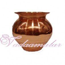 Simple Copper Kalasham for Holi water